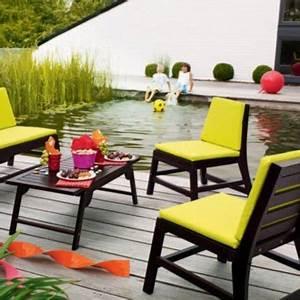 Salon De Jardin Couleur : salon de jardin couleur mc immo ~ Teatrodelosmanantiales.com Idées de Décoration