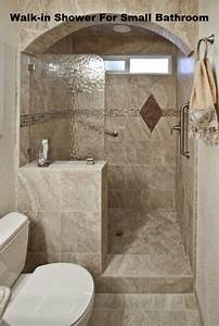 Walk in shower in small bathroom joy studio design for Walk in showers for small bathrooms