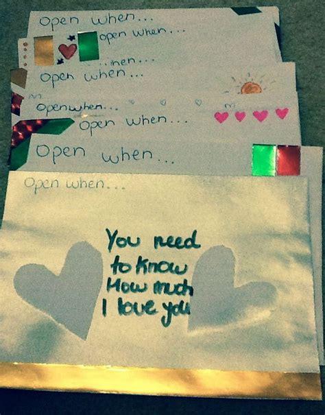 open when letters for boyfriend creative open when letter ideas designs 58698