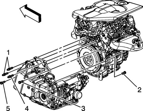 4t45e Automatic Transaxle Diagram by Repair Guides Automatic Transaxle Transaxle Removal