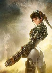Future, Futuristic, Cyberpunk Girl, Sexy Comic Girl ...