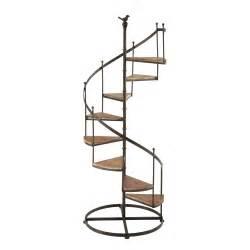 Jeu De L Escalier Brissiaud by 201 Tag 232 Re Escalier En M 233 Tal Et Bois Effet Rouille L 53 Cm