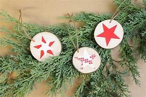 Basteln Mit Baumscheiben : weihnachtsdeko aus baumscheiben diy academy ~ Watch28wear.com Haus und Dekorationen