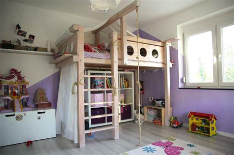 kinderzimmer selber bauen hochbett selbst gebaut bauanleitung f 252 r ein massives hochbett