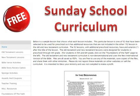 17 best ideas about sunday school curriculum on 230 | d562418c06d2fd59b96b2f08e63e3260