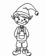 Elf Coloring Pages Printable Clipartmag sketch template
