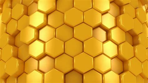 Orange Yellow 3d Honeycomb Background Stock Vector Abstract Background Of Yellow And Black Honeycombs