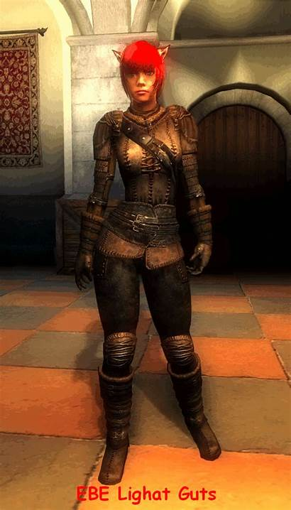 Mods Leather Ebe Armor Hgec Guts