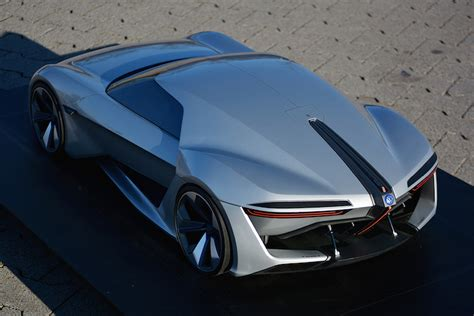 stunning volkswagen sports car concept wants us to towards the future
