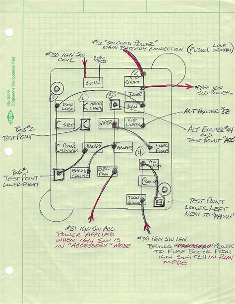 Wiring Harness Circuit Diagram Ford Truck