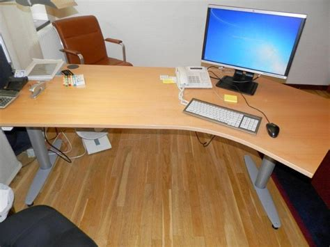 kinnarp skrivbord simple kinnarp elektrisk hj och snkbart
