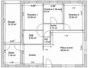 exceptional plan maison avec cotation 2 avis sur plan With plan maison avec cotation