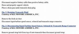 Transmission Fluid Change  I Would Like To Drain And