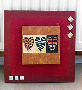 Modelliermasse Lufttrocknend Ideen : basteln gestalten keilrahmen ideen und deko meine gebastelten werke home decor frame ~ Orissabook.com Haus und Dekorationen