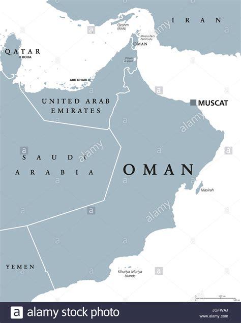 arabian peninsula map stock  arabian peninsula map