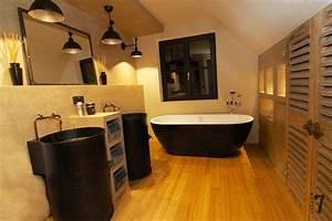 Meuble Salle De Bain Style Industriel : meuble vasque style industriel ~ Melissatoandfro.com Idées de Décoration