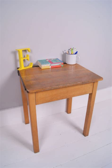 Children's Vintage Esavian Single School Desk With Lift Up. Fun Desk Chairs. Credenza Drawers. 52 Inch Desk. Csumb It Help Desk. Under Bed Storage Drawer. Portable Laptop Desk. Makeup Desk Walmart. Pottery Barn Kids Desks
