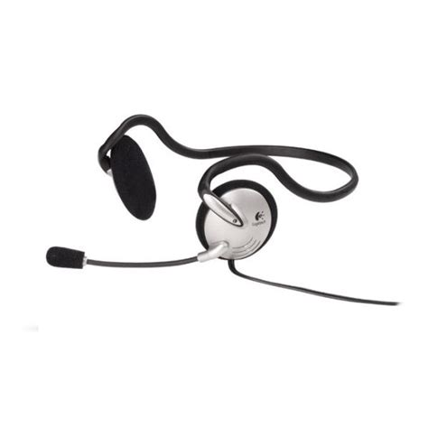 logitech and microphone logitech pc headset 120 with microphone
