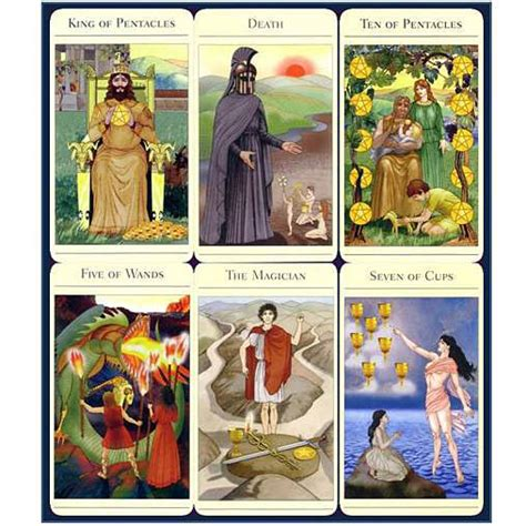 mythic tarot deck book set the new mythic tarot set complete with book classic