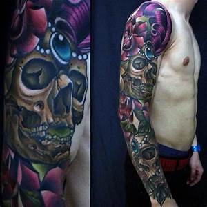 100 New School Tattoos For Men - Modern Ink Design Ideas