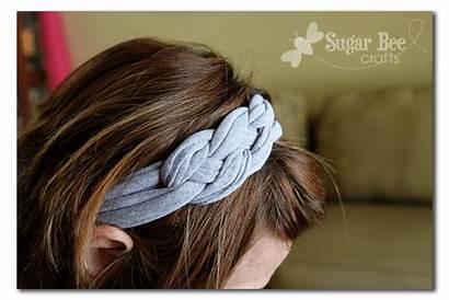 Headband Knotted Tutorial Yarn Trapillo Headbands Tshirt