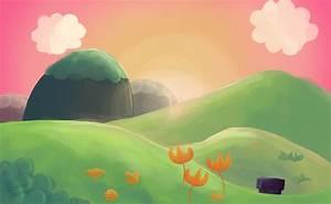Yoshi Island Sunset by Legionforce on deviantART