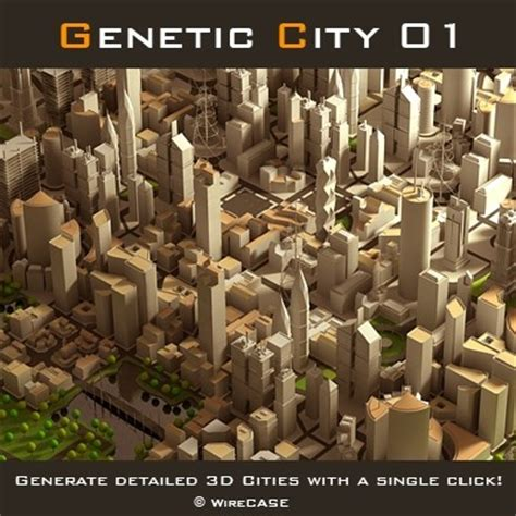 generate detailed  cities   single click maxscript