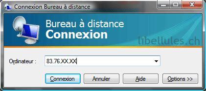 port connexion bureau distance accédez à distance à votre ordinateur sous windows xp