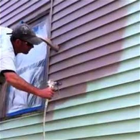 can you paint vinyl siding paint vinyl siding laffco painting