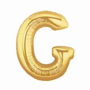 gold letter g balloon gold letter balloon 40 With 40 gold letter balloons