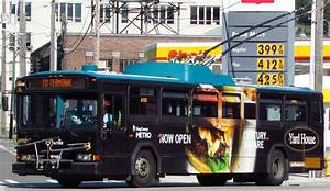 King County Metro 2001 Gillig Phantom Trolley 4110  Yardho