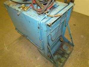 Miller Cp250ts 250 Amp 3ph Dc Wire Feed Welder Miller Je19