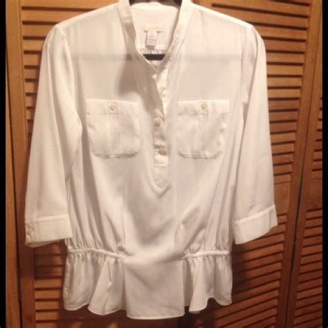 chicos blouses chico 39 s gorgeous chico 39 s white blouse from nala 39 s closet