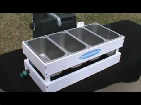 micro table top concession sink youtube