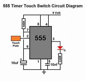 Details About 555 Timer Touch Switch Diy Circuit Kit
