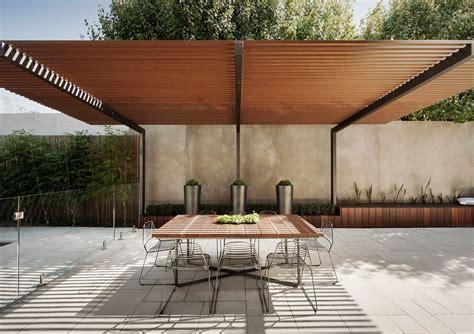 outdoor room  melbourne australia nathan burkett design landscape architects pergola