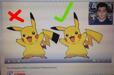Pikachu Tail Mandela Effect Black Tipped Pikachu Tail Pok 233 Mon Amino