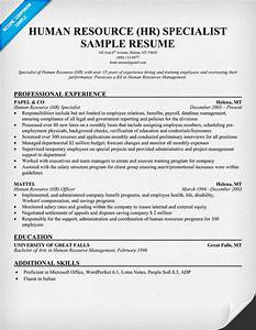 free human resource hr specialist resume resume With human resources job description for resume