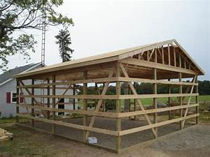 house plan step by step diy woodworking project cool pole With 30x50 pole barn plans