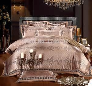luxury jacquard comforter bedding sets gold duvet cover king size bedding set bedclothes bed set jpg