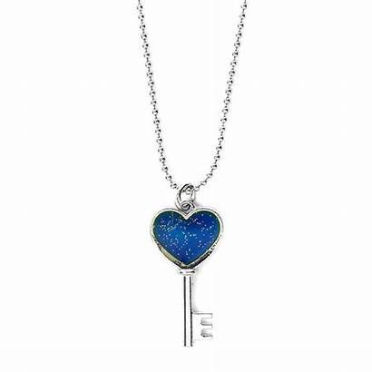 Key Necklace Heart Pendant Mood Claire Claires