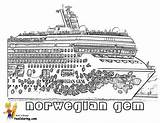 Coloring Cruise Pages Ship Gem Norwegian Printable Colouring Ships Sheet Disney Template Boys Yescoloring Stupendous Cruises sketch template