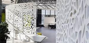 Claustra Beton Blanc : am nagement sur mesure en beton lege des espaces tour voltaire ~ Melissatoandfro.com Idées de Décoration