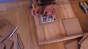 Cadre à Décorer : diy 1 comment r aliser un cadre photo en carton youtube ~ Zukunftsfamilie.com Idées de Décoration