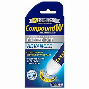 Compound W Wart Removal System Freeze Off Advanced