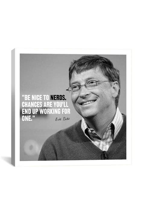 Canvas Print: Bill Gates | Bill gates quotes, Thought ...