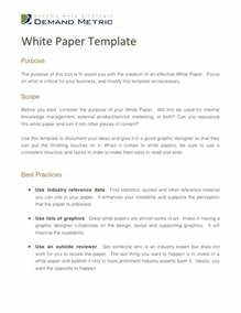 White Paper Template Sadamatsu Hp