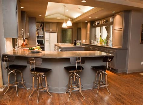 Nova Blue Limestone Kitchen In Austin, Texas