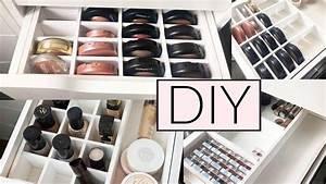 Geschenkpapier Aufbewahrung Ikea : diy perfekte ikea alex make up organisation aufbewahrung youtube ~ Orissabook.com Haus und Dekorationen