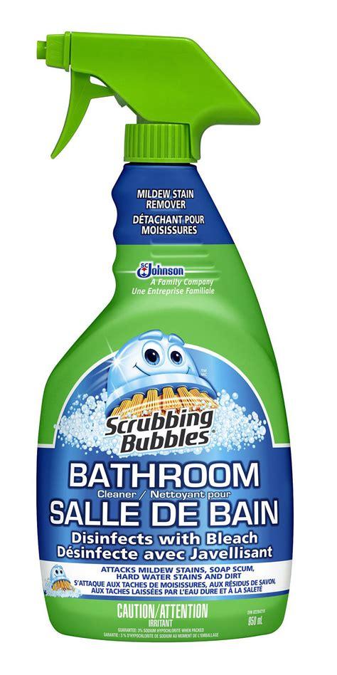 achetez un produit scrubbing bubbles nettoyant pour salle de bain au choix et obtenez en 1 gratuit